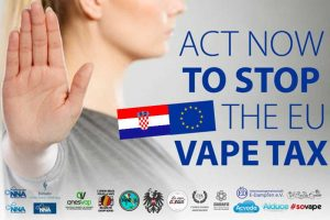 NO VAPE TAX IN CROATIA